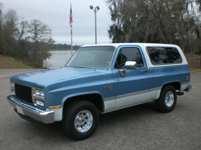 Chevy Blazer K5 >> 1981 CHEVY BLAZER K5 SILVERADO RARE 2WD (BODY OFF RESTORATION AT NO RESERVE) for sale: photos ...