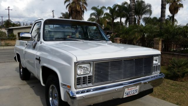 1981 chevy c10 pickup truck short bed custom deluxe super clean low miles for sale photos. Black Bedroom Furniture Sets. Home Design Ideas