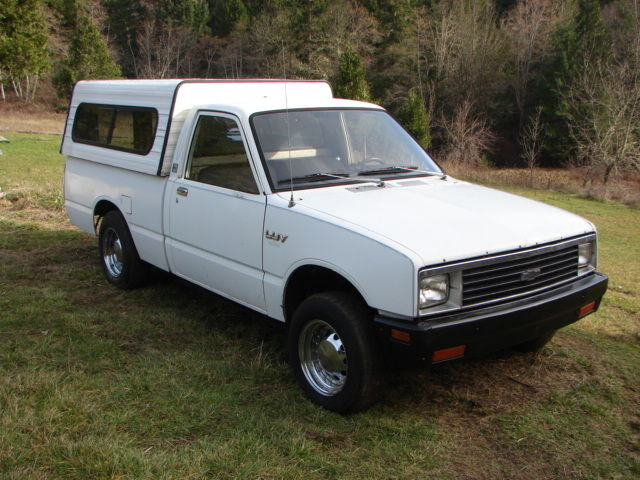 1981 chevy luv diesel pickup truck isuzu pup new engine. Black Bedroom Furniture Sets. Home Design Ideas