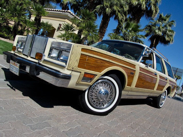 1981 Chrysler LeBaron Town And Country Woody Wagon