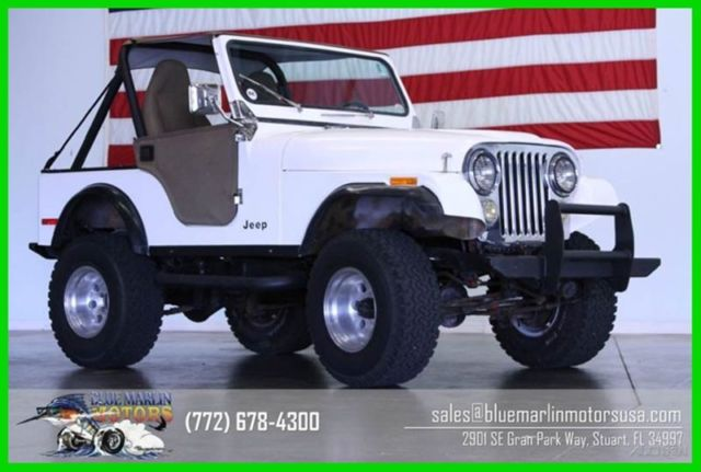 1981 Jeep CJ Base 2dr 4WD SUV