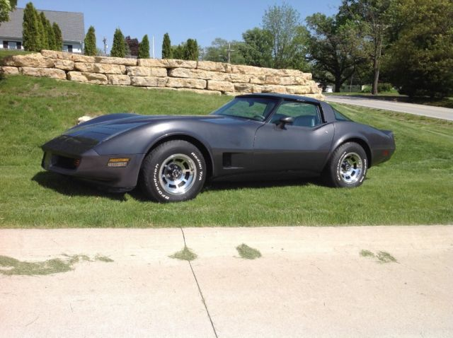 1981 Chevrolet Corvette Leather