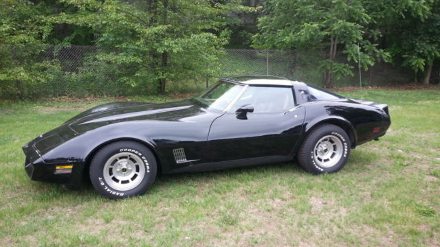 1981 Chevrolet Corvette T TOPS