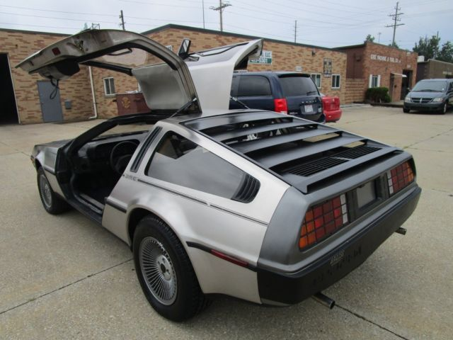 1981 DeLorean DeLorean NO RESERVE AUCTION - LAST HIGHEST BIDDER WINS CAR!