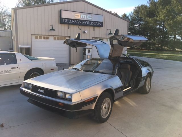 1981 DeLorean Coupe Grey