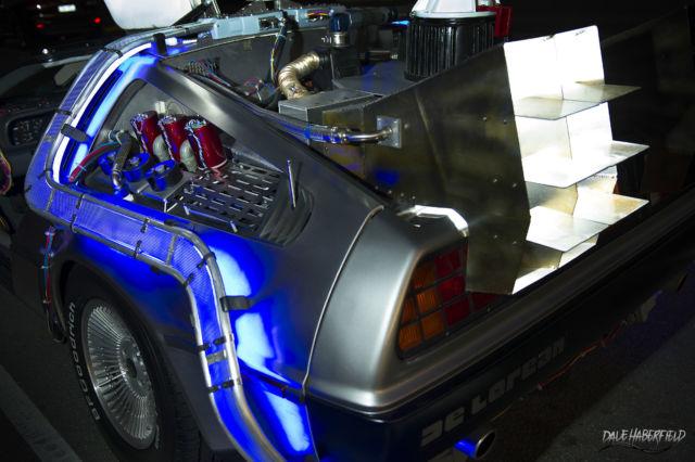 1981 Delorean Dmc 12 Back To The Future Time Machine