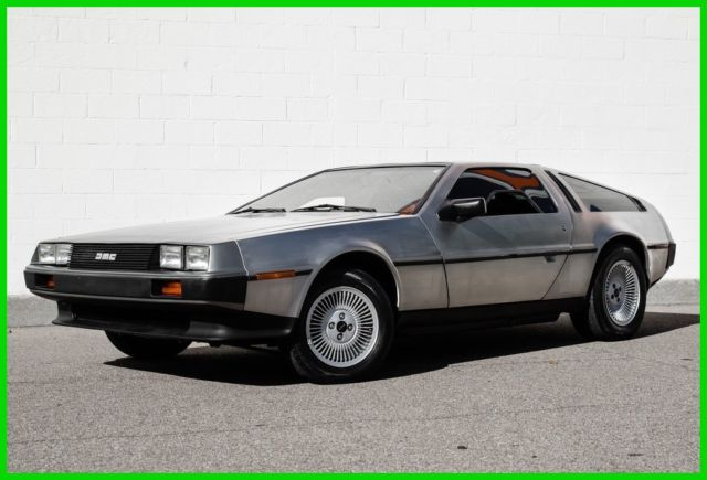 1981 DeLorean DMC 12 DMC-12  5-Speed Manual - Bertone Design - Stainless Steel