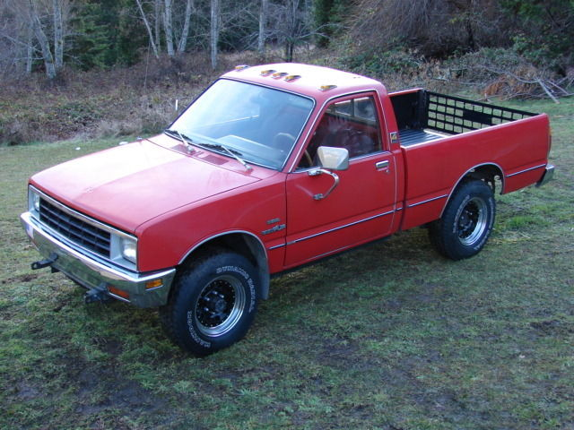 1981 diesel isuzu pup 4x4 pickup truck w new engine for sale photos technical specifications. Black Bedroom Furniture Sets. Home Design Ideas