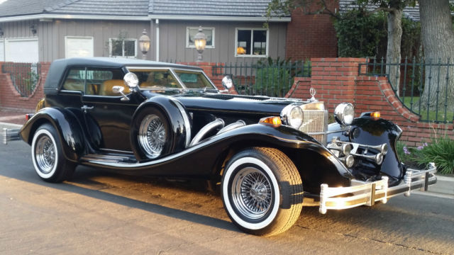 1981 excalibur phaeton iv 5k miles museum quality one owner car for sale photos technical. Black Bedroom Furniture Sets. Home Design Ideas