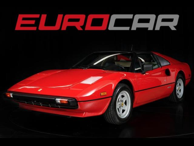 1981 Ferrari 308 GTS STUNNING COLLECTOR CAR ONLY 19000 MILES