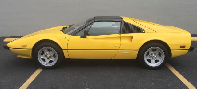 1981 Ferrari 308 GTSi Base Coupe 2Door 30L for sale photos