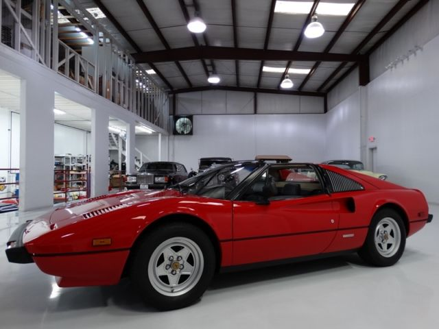 1981 Ferrari 308 ONE OWNER FROM NEW! ONLY 28,862 ACTUAL MILES!