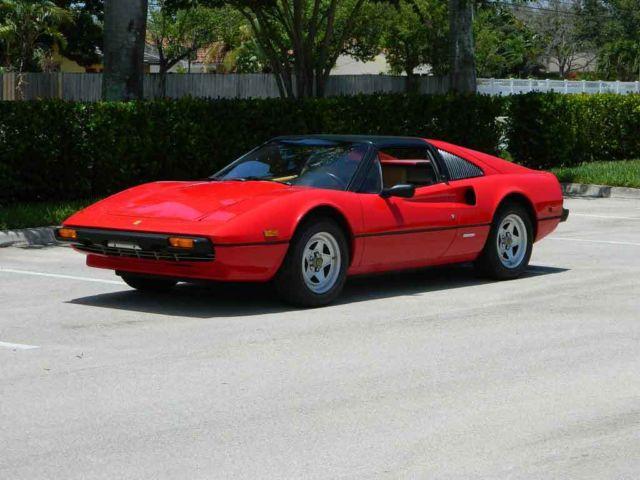 1981 FERRARI 308 GTSi ROSSO CORSA 2 OWNER COLLECTOR QUALITY