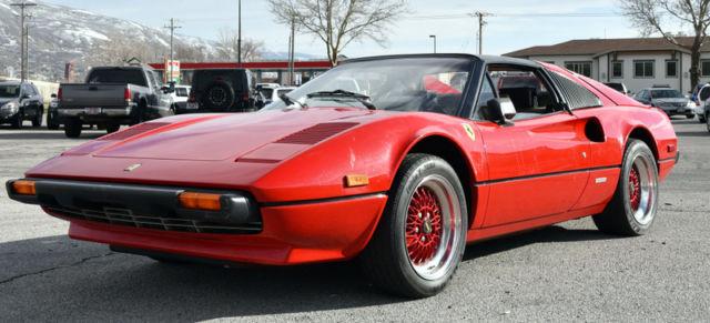 1981 Ferrari 308 GTSI Targa Coupe Garage Find for sale photos