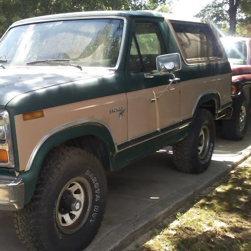 1981 Ford Bronco BASE