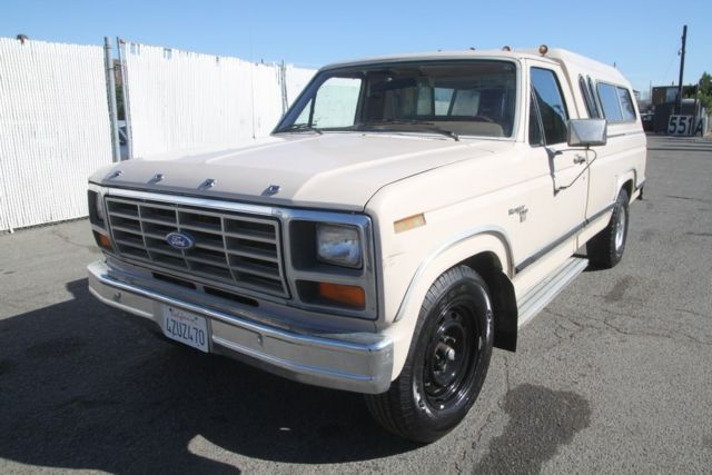 1981 Ford F-150 Ranger Standard Cab Pickup 2-Door
