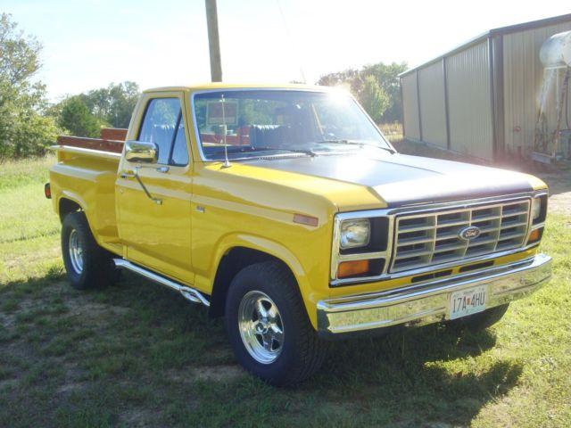 1981 ford f100 stepside pickup truck 460 motor c6 for Ford truck motors for sale