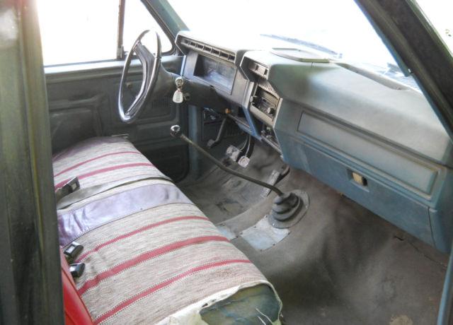 1981 Ford Pickup Truck F100 2wd Custom 6 Cylinder Hd