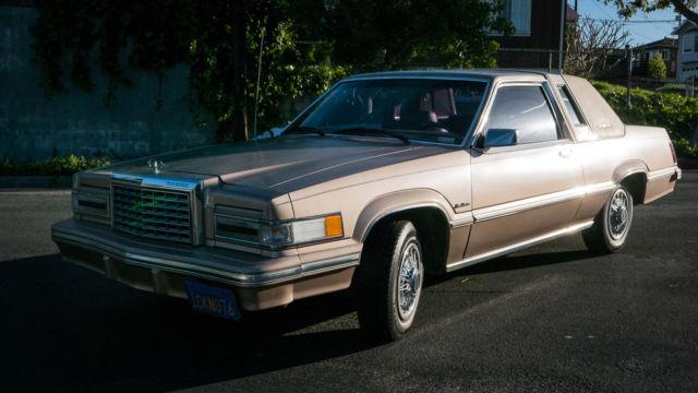 1981 Ford Thunderbird Town Landau Sedan 2 Door 4 2l 42k