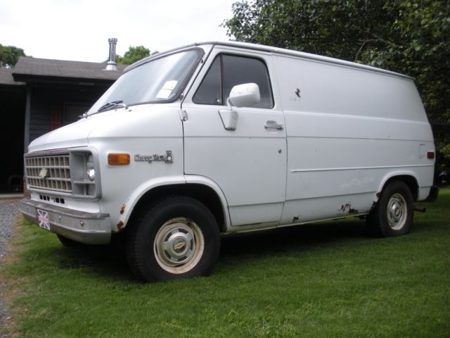 ec0ad33abf 1981 G10 Chevy Van SHORTY . Ready to Restore . NO RESERVE . Chevrolet Van