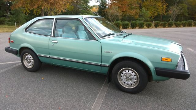 1981 Honda Accord Hatchback All Original For Sale Photos Technical