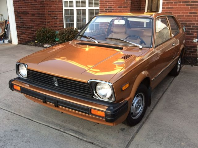 1981 Honda Civic Coupe