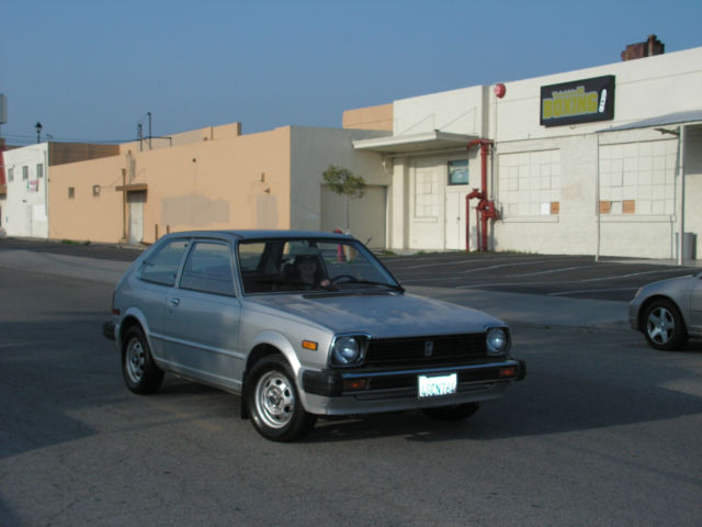 1981 Honda Civic DX/GL