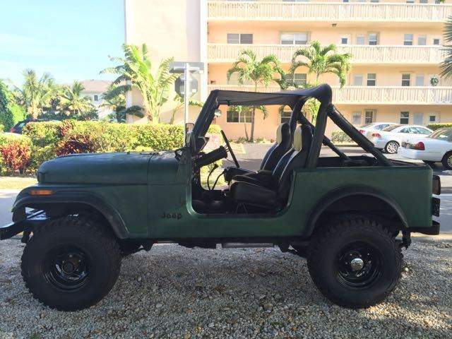 1981 jeep cj7 4x4 low miles clean autocheck completely restored collector 39 s item for sale. Black Bedroom Furniture Sets. Home Design Ideas