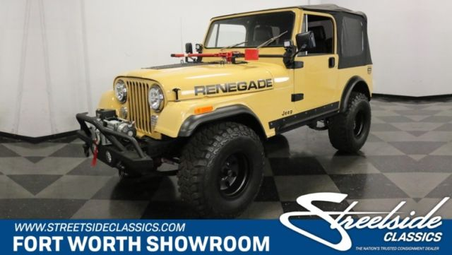 1981 Jeep CJ Renegade