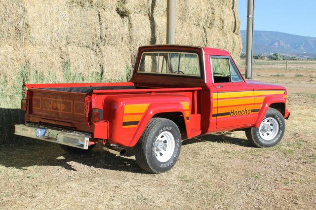 1981 jeep j10 honcho sport side step side for sale. Black Bedroom Furniture Sets. Home Design Ideas