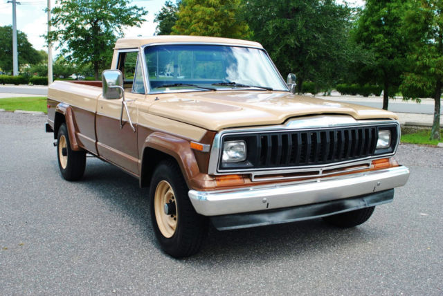1981 Jeep J20 4x4 Pickup 27K Actual Miles! Very Rare 360 V8!