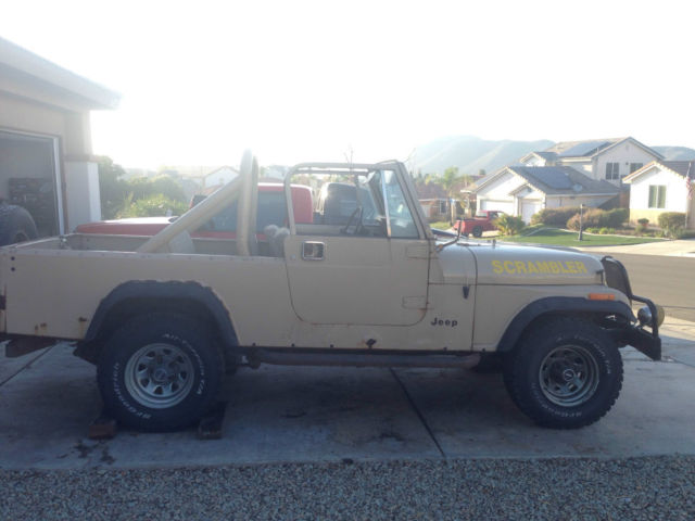 1981 Jeep SCRAMBLER CJ8 Base Sport Utility 2-Door