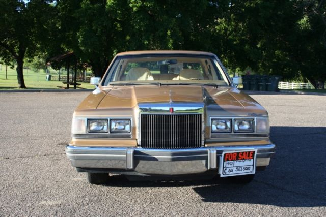 1981 Lincoln Continental ONE OF A KIND