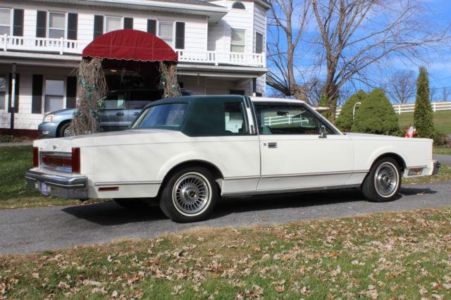 1981 Lincoln Town Car Base Sedan 2 Door For Sale Photos Technical