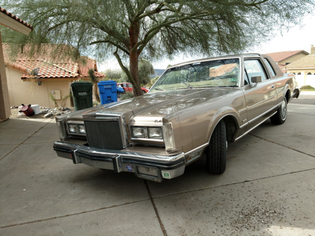 1981 Lincoln Town Car Signature Edition 2 Door 118k Miles Leather