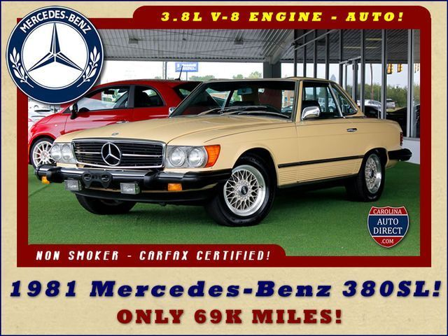 1981 Mercedes-Benz 300-Series 380SL - ONLY 69K MILES!