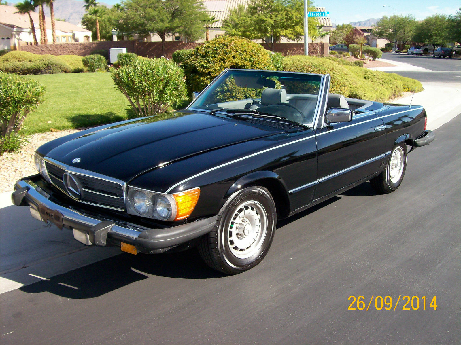 1981 Mercedes-Benz 300-Series 380SL