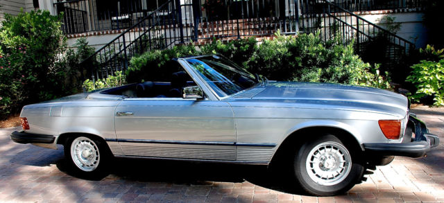 1981 Mercedes-Benz 300-Series 380SL Convertible