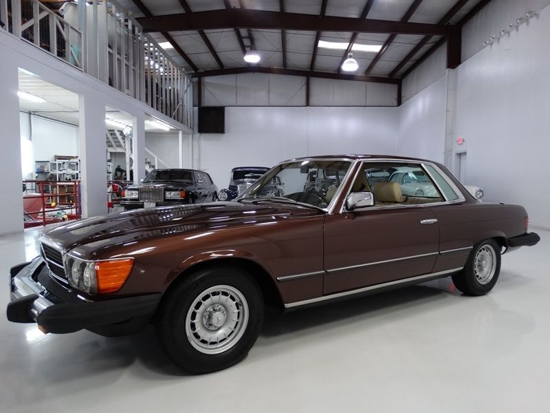1981 Mercedes-Benz SL-Class ONLY 20,814 ACTUAL MILES! ALL OPTIONS!
