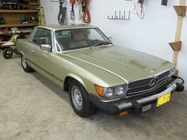 1981 Mercedes-Benz 300-Series Coupe