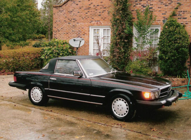 1981 Mercedes-Benz SL-Class Base 2-Door Convertible