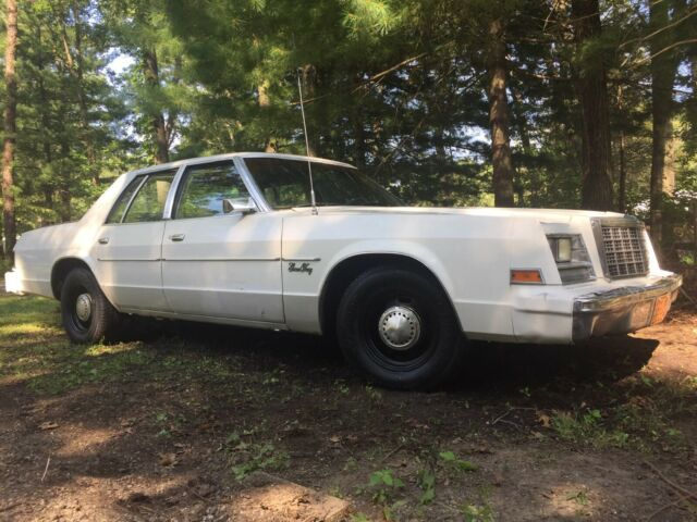 1981 Plymouth Fury A38 Police Package