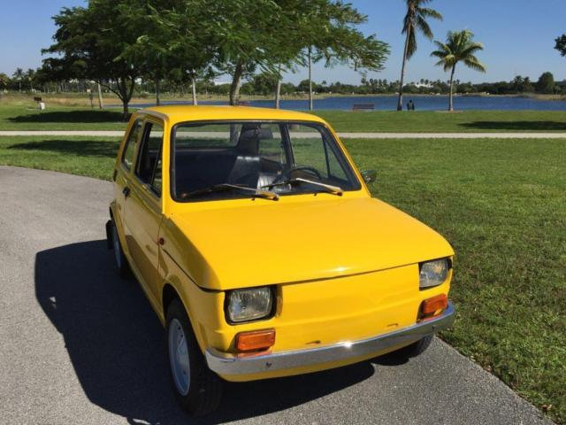 1981 Other Makes Polski Fiat 126P Florida Clean Title in hand