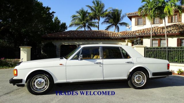 1981 Rolls-Royce Silver Spirit/Spur/Dawn FACTORY LEATHER