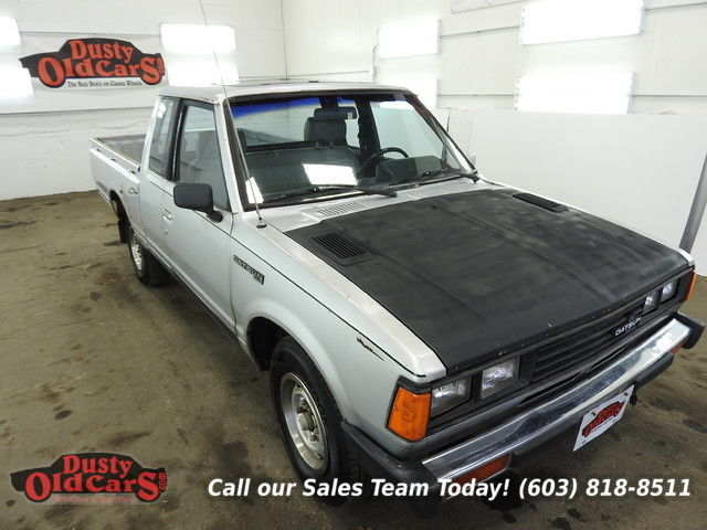 1981 Datsun 720 Pickup Runs Drives Body Inter Good 2.2L 5spd