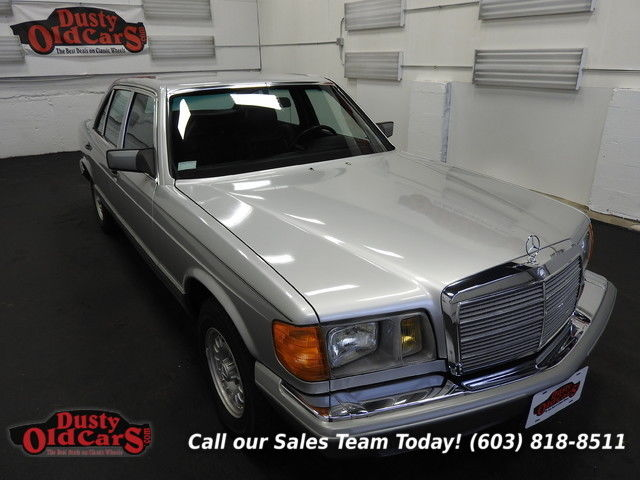 1981 Mercedes-Benz 300-Series Runs Drives Body Inter VGood 3.8LV8 4 spd auto