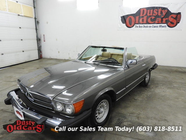 1981 Mercedes-Benz SL-Class Runs Drives Interior Body VGood 3.8LV8