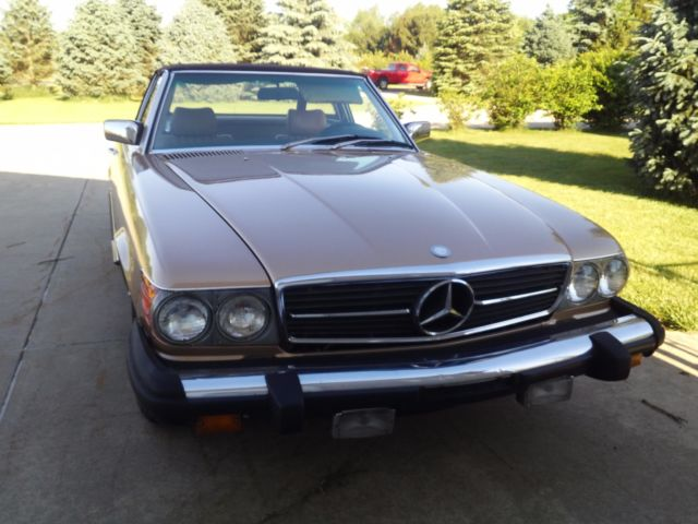 1981 Mercedes-Benz 300-Series SL Package