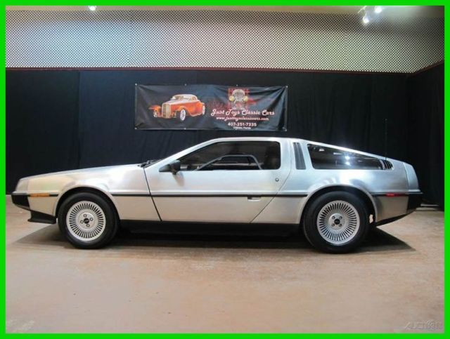 1981 DeLorean DMC-12 Stage II