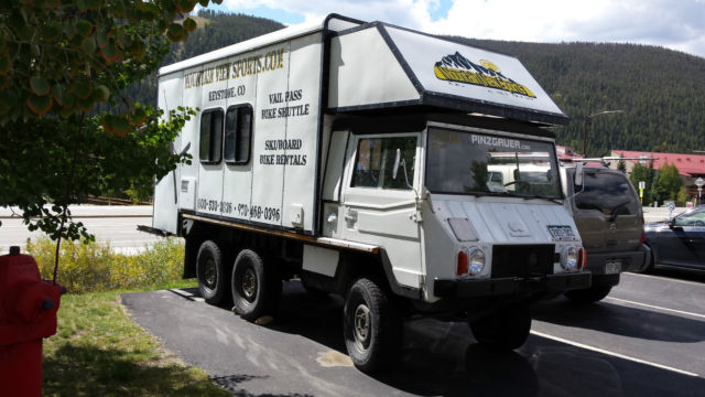 1900 Other Makes PINZGAUER 712M CAMPER CAMPER